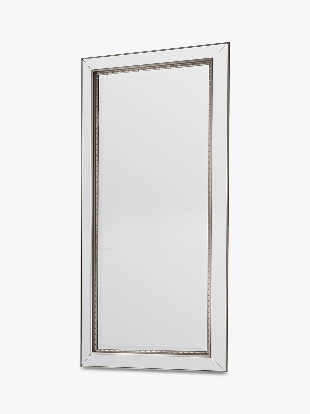 Fresno Rectangular Frame Leaner Mirror, 167.5 x 81cm, Gold