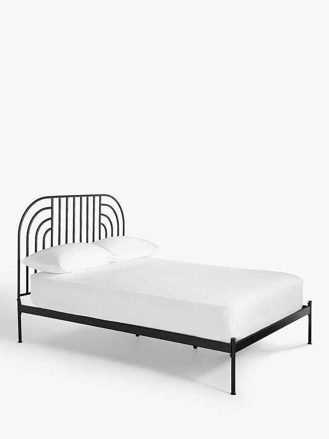 Anyday John Lewis Partners Swirl, Ikea Black Metal Bed Frame King