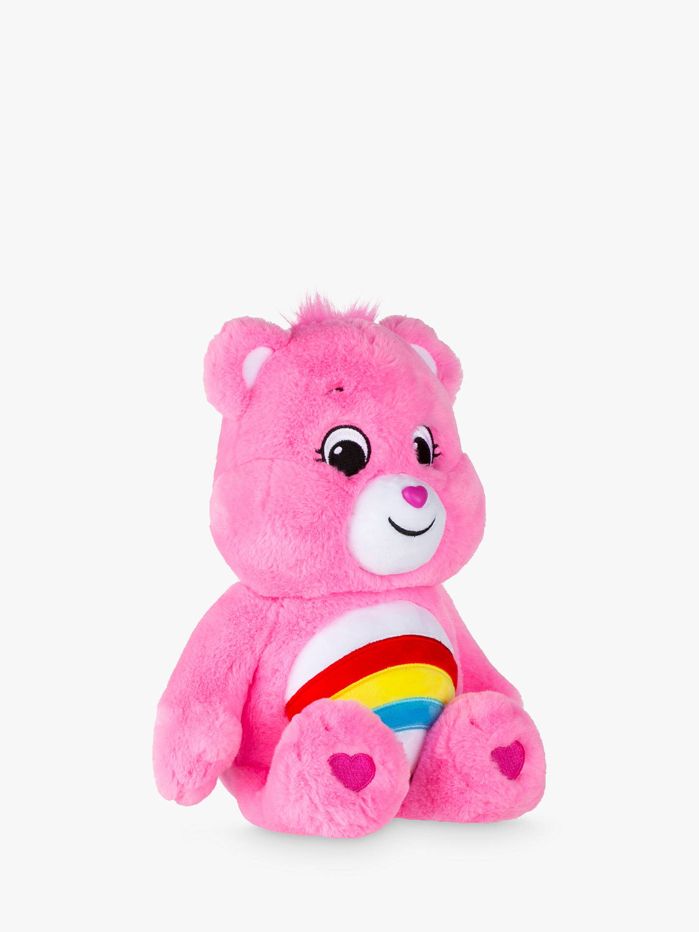 Message Recorder Stuffed Animals, Care Bears Cheer Plush Soft Toy At John Lewis Partners