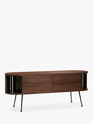 "John Lewis & Partners Recap TV Stand for TVs up to 50"", Walnut"