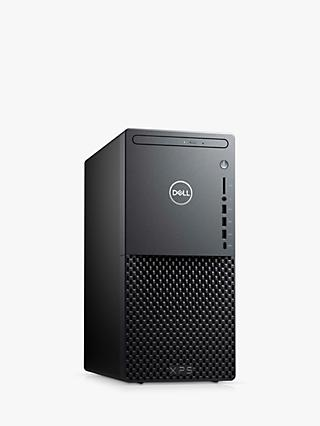 Dell XPS 8940 Desktop PC, Intel Core i7 Processor, 16GB RAM, 1TB HDD + 512GB SSD, GeForce RTX 2060, Black