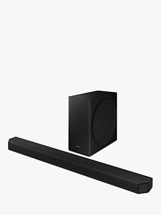 Samsung HW-Q900T Bluetooth Wi-Fi Cinematic Sound Bar with Dolby Atmos, Virtual DTS:X & Wireless Subwoofer
