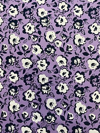 Marvic Fabrics Outline Flower Print Fabric