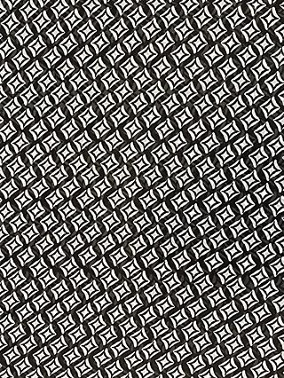 Marvic Fabrics Diamonds Print Fabric, Black/White