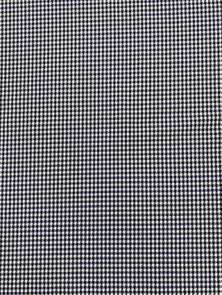 Marvic Fabrics Dogtooth Print Fabric, Blue