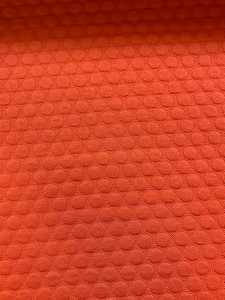 Marvic Fabrics Textured Spots Print Fabric, Orange