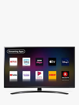 LG 50NANO796NE (2020) LED HDR NanoCell 4K Ultra HD Smart TV, 50 inch with Freeview HD/Freesat HD & Crescent Stand, Black