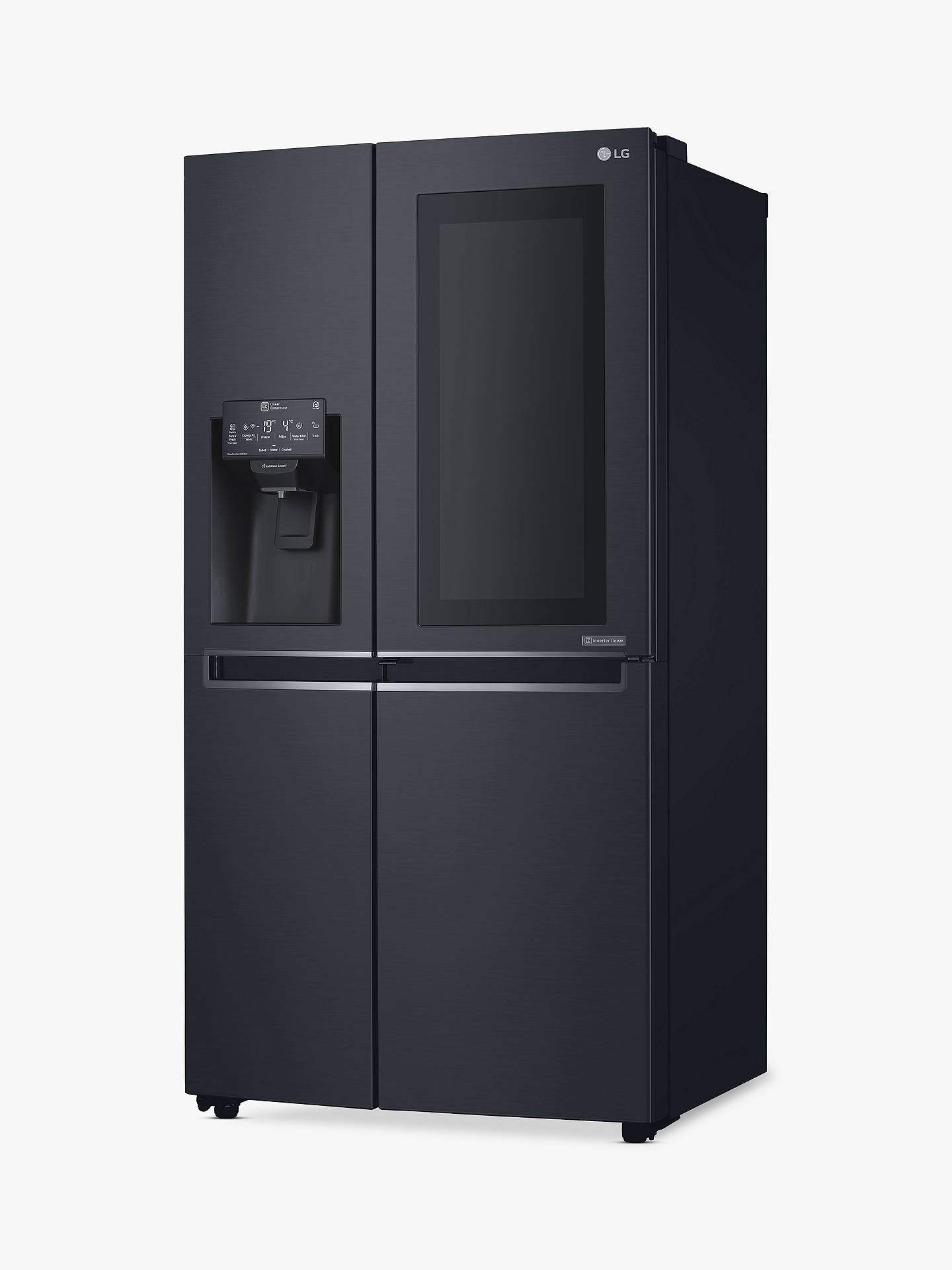 Buy LG GSX961MCCZ American-Style Freestanding 60/40 Fridge Freezer, 92cm Wide, Matte Black Online at johnlewis.com