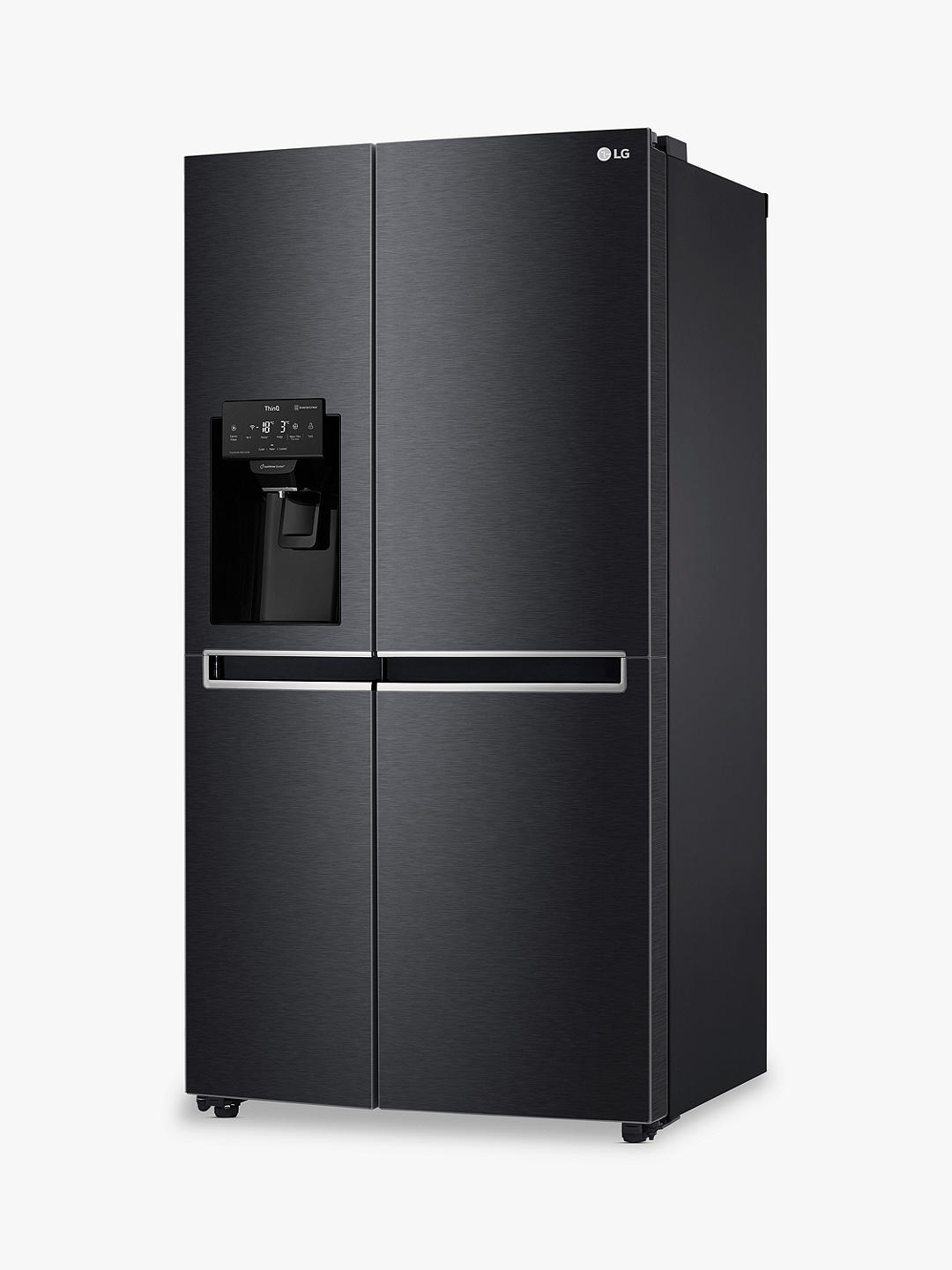 Buy LG GSL760MCKV Freestanding 60/40 American Fridge Freezer, Matte Black Online at johnlewis.com