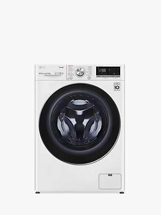 LG FWV796WTSE Freestanding Washer Dryer, 9kg/6kg Load, 1400rpm Spin, White