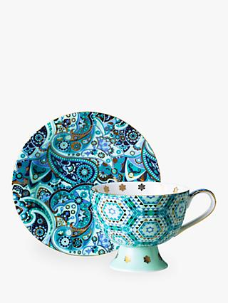 T2 Mystic Carpet Ride Cup and Saucer, 170ml, Sapphire