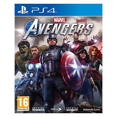 Image of Marvel's Avengers, PS4