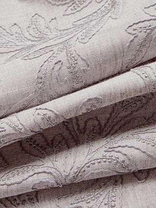 Buy John Lewis & Partners Acanthus Embroidered Furnishing Fabric, Smoke Online at johnlewis.com