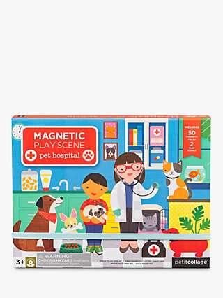 Petit Collage Magnetic Pet Hospital Play Set