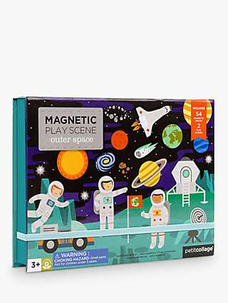 Petit Collage Magnetic Outer Space Play Scene Set