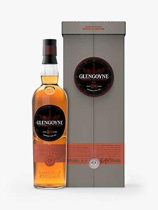 Glengoyne 18 Year Old Single Malt Whisky, 70cl