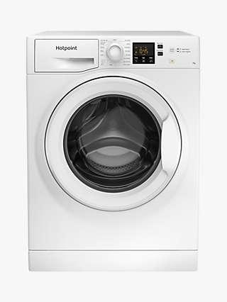 Hotpoint NSWM 742U W UK N Freestanding Washing Machine, 7kg Load, 1400rpm Spin, White