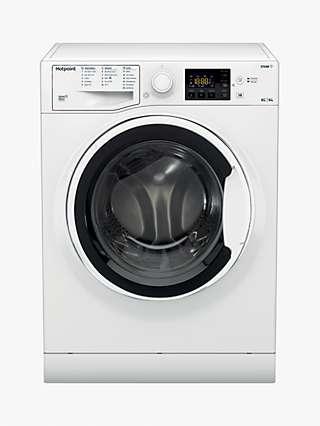 Hotpoint RDG 8643 WW UK N Freestanding Washer Dryer, 8kg/6kg Load, 1400rpm Spin, White
