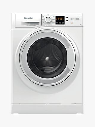 Hotpoint NSWM 1043C W Freestanding Washing Machine, 10kg Load, 1400rpm Spin, White