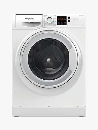 Hotpoint NSWM 1043C W Freestanding Washing Machine, 10kg Load, 1400rpm Spin, White