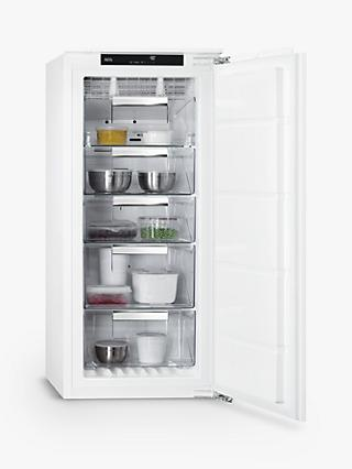AEG ABB812E6NC Integrated Freezer, 56cm Wide, White