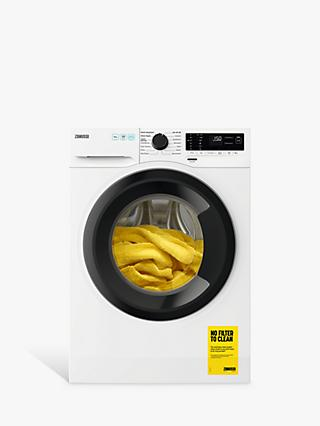 Zanussi ZWF143A2DG Freestanding Washing Machine, 10kg Load, 1400rpm Spin, White
