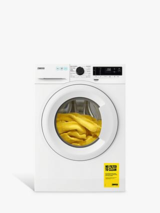 Zanussi ZWF144A2PW Freestanding Washing Machine, 10kg Load, 1400rpm Spin, White
