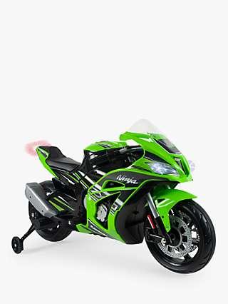 INJUSA Kawasaki ZX10 12V Electric Ride-On Motorbike