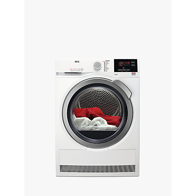 AEG 7000 T7DBG842R Heat Pump Tumble Dryer, 8kg Load, White