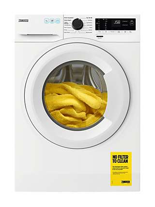 Zanussi ZWF944A2PW Freestanding Washing Machine, 9kg Load, 1400rpm Spin, White