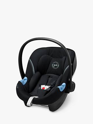 Cybex Aton M i-Size Group 0+ Baby Car Seat, Deep Black