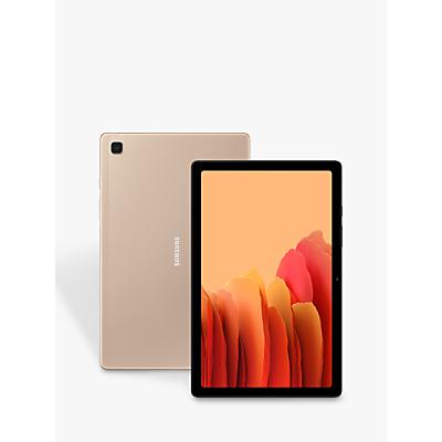 Image of Samsung Galaxy Tab A7 Tablet, Android, 3GB RAM, 32GB, Wi-Fi + Cellular, 10.4