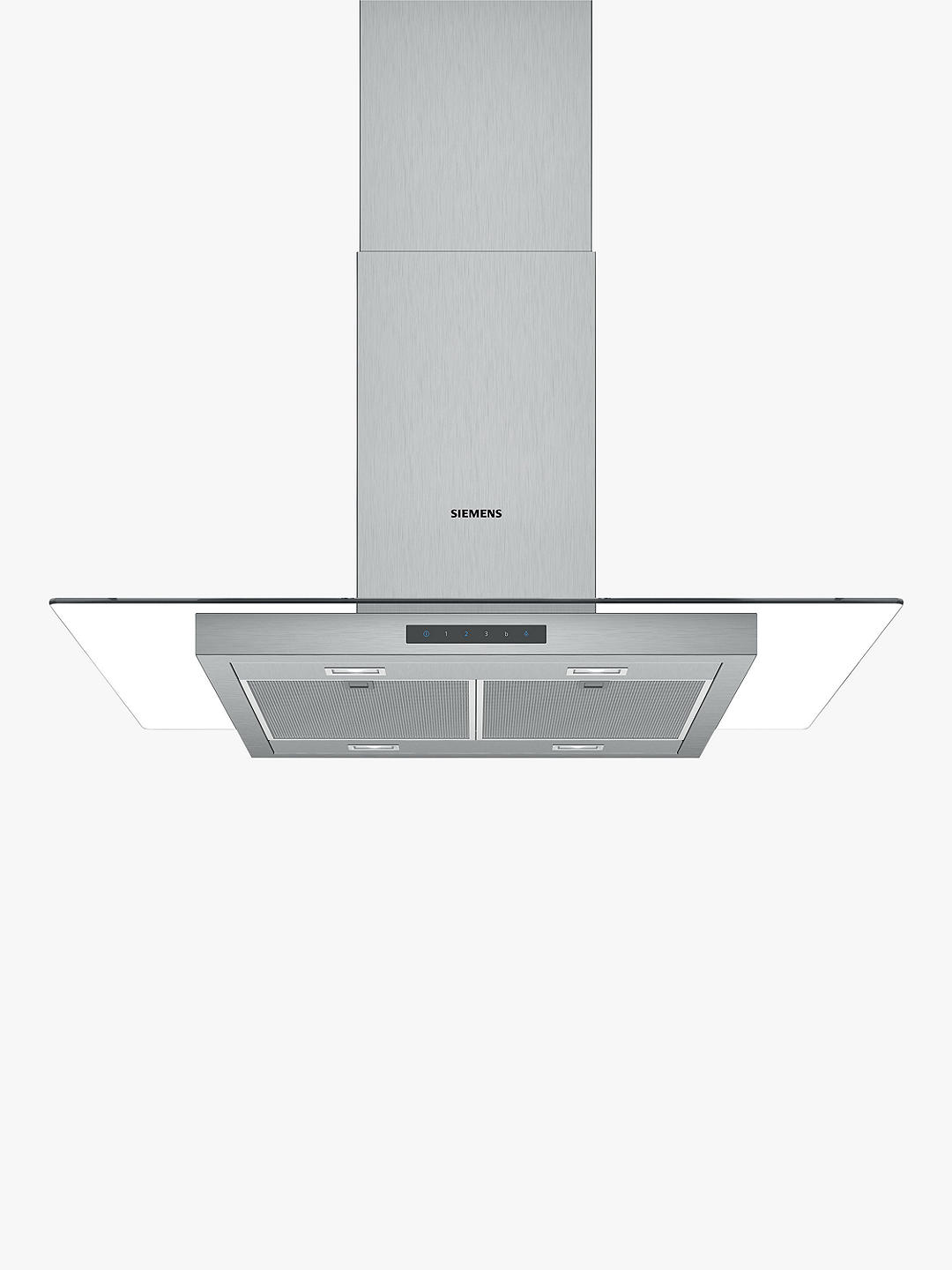 Buy Siemens iQ300 LF97GBM50B 90cm Chimney Cooker Hood, Stainless Steel Online at johnlewis.com