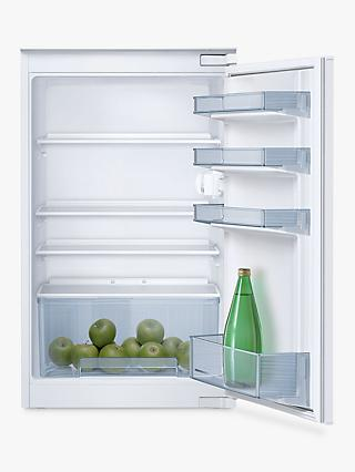 Neff N30 K1514XF0G Integrated Fridge, 56cm Wide, White