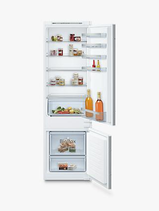 Neff N50 KI5872SF0G Integrated 70/30 Fridge Freezer, 55cm Wide, White