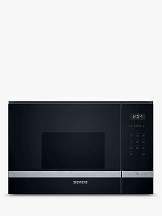 Siemens iQ500 BF525LMS0B Microwave Oven, Stainless Steel