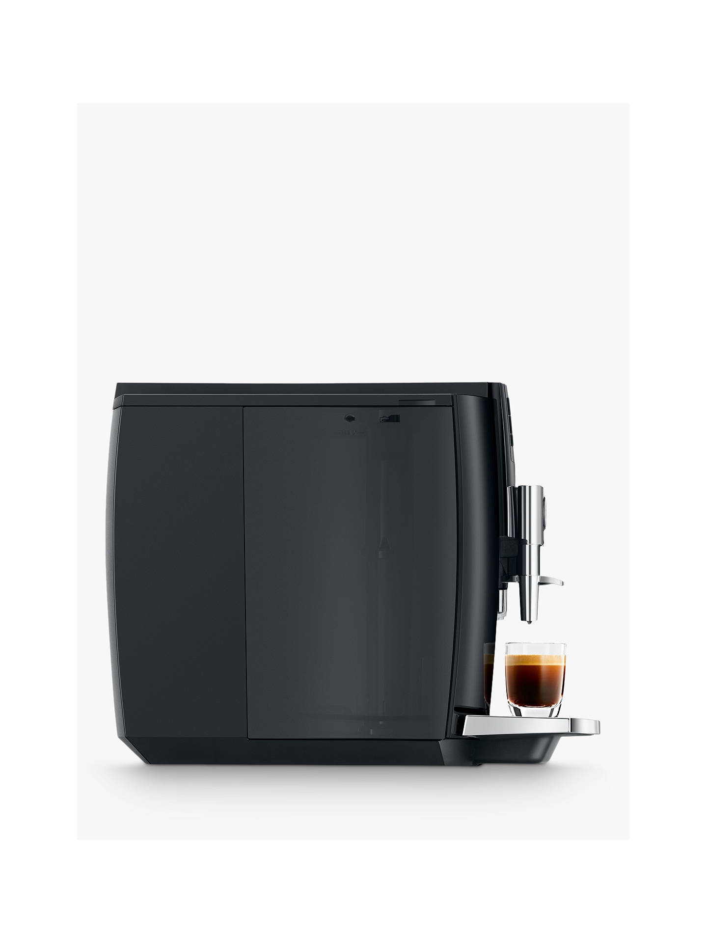 Buy JURA E6 Coffee Machine, Black Online at johnlewis.com