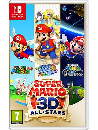 Super Mario 3D All-Stars, Switch