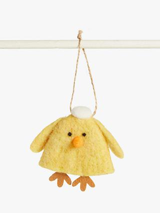 John Lewis & Partners Felt Chick Easter Tree Decoration