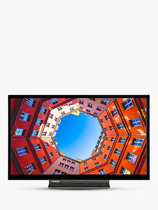 Toshiba 24WK3A63DB (2020) LED HD Ready 720p Smart TV, 24 inch with Freeview Play, Black