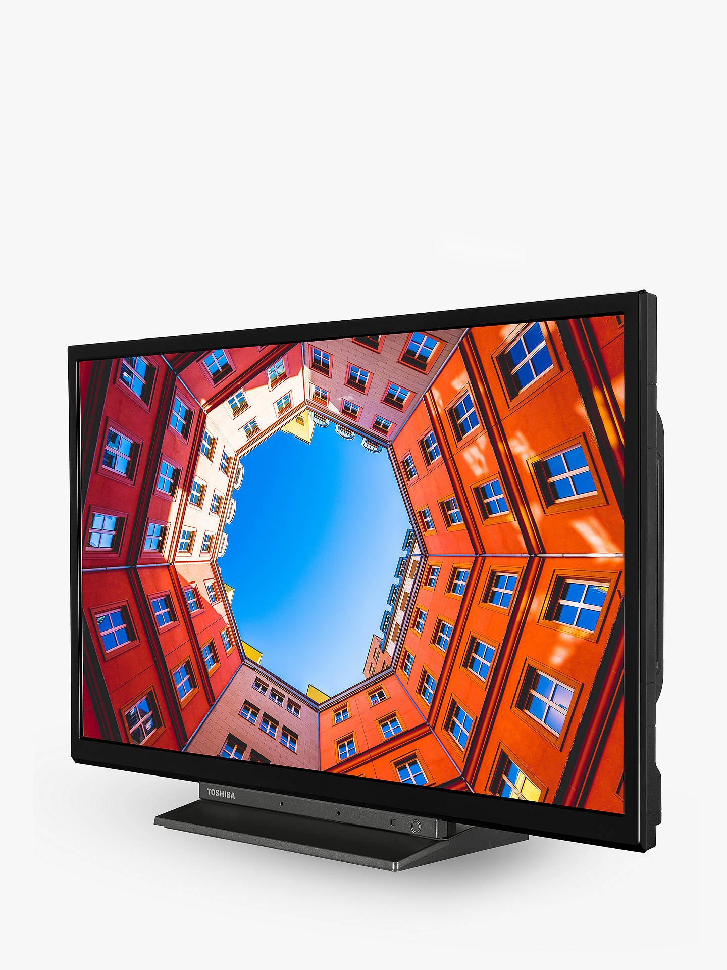 Buy Toshiba 24WK3A63DB (2020) LED HD Ready 720p Smart TV, 24 inch with Freeview HD & Freeview Play, Black Online at johnlewis.com