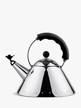 Alessi Stovetop Kettle with Bird Whistle