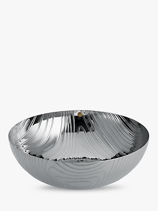 Alessi Veneer Stainless Steel Bowl
