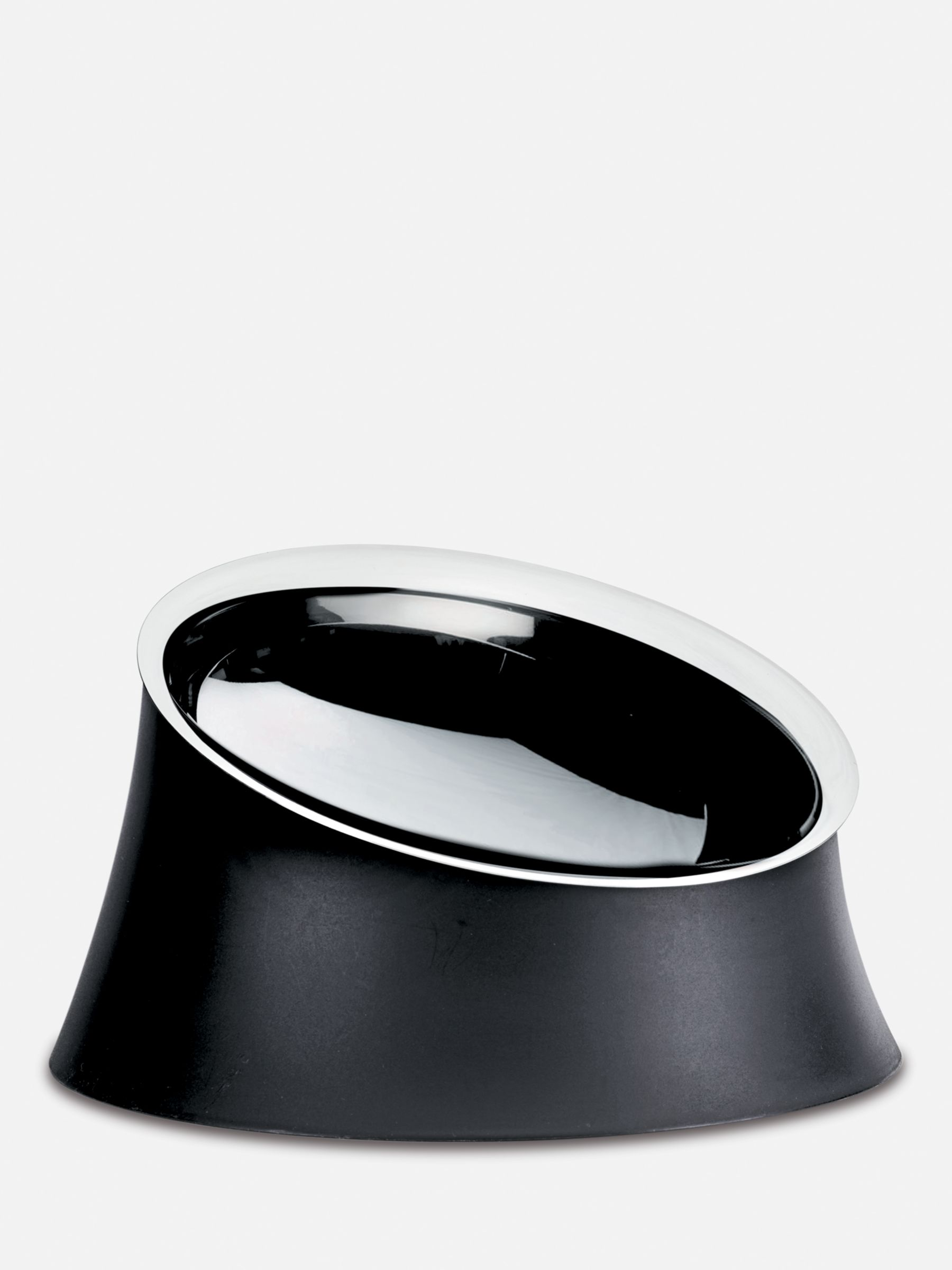 Alessi Dog Food Bowl, Large, Black