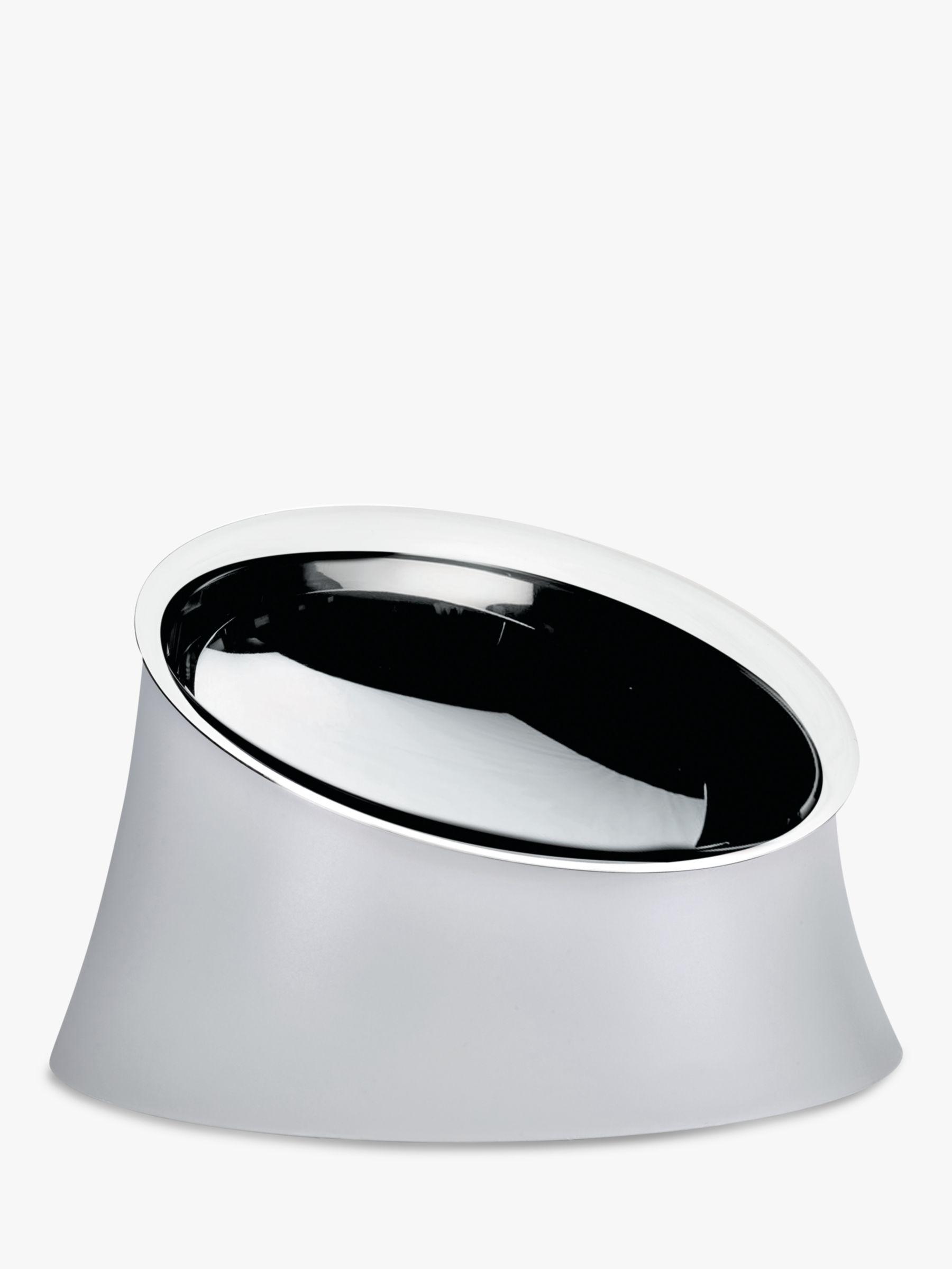 Alessi Dog Food Bowl, Small, Grey