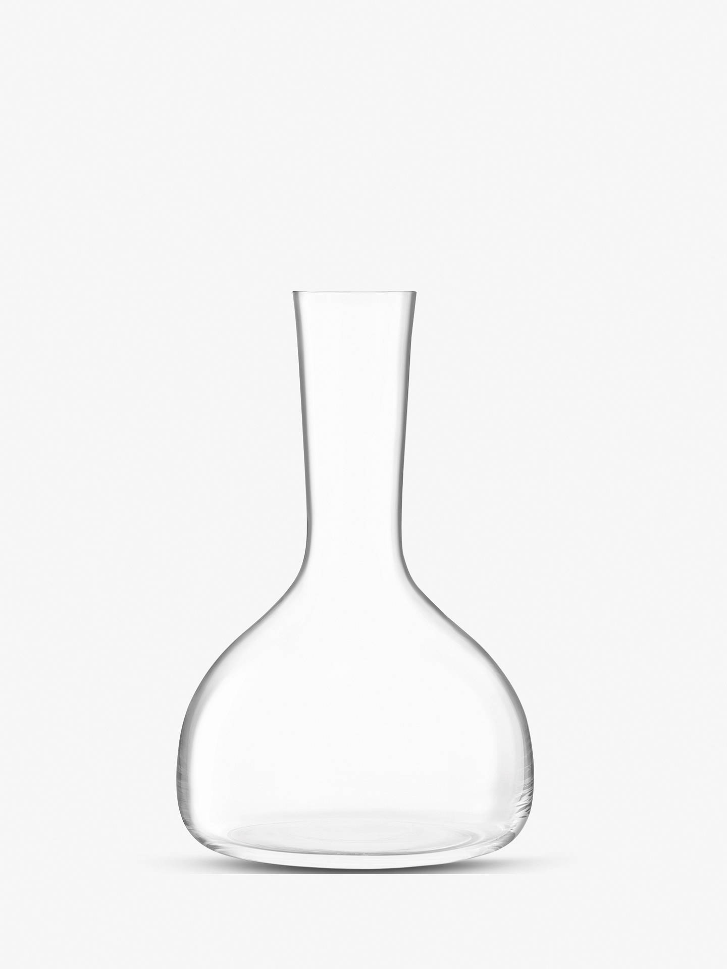 Buy LSA International Borough Glass Wine Carafe, 1.75L, Clear Online at johnlewis.com