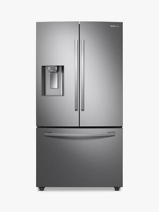 Samsung RF23R62E3SR American-Style Freestanding 75/25 Fridge Freezer, 91cm Wide, Stainless Steel