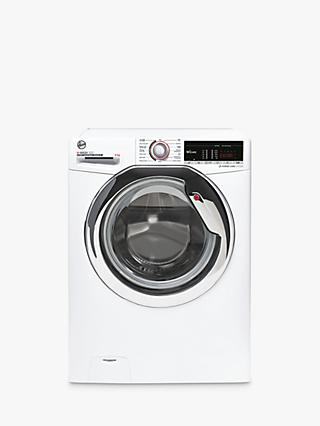 Hoover H-Wash 300 H3WS 485TACE/1-80 Freestanding Washing Machine, 8kg Load, 1400rpm Spin, White