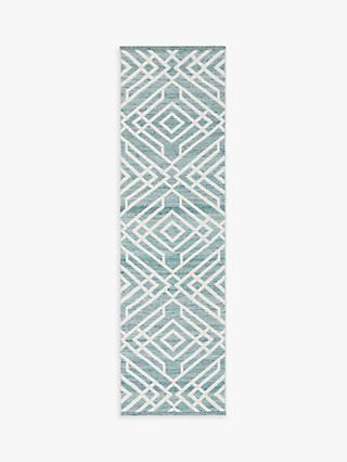 John Lewis & Partners Aztec Indoor & Outdoor Runner Rug, L240 x W70 cm