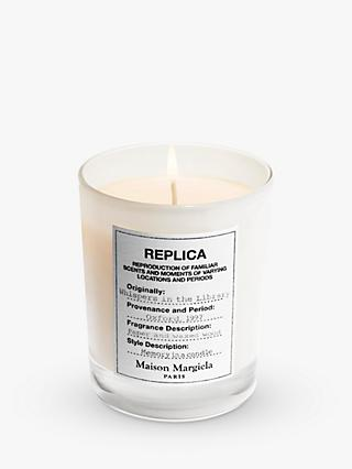 Maison Margiela Replica Whispers in the Library Candle, 165g